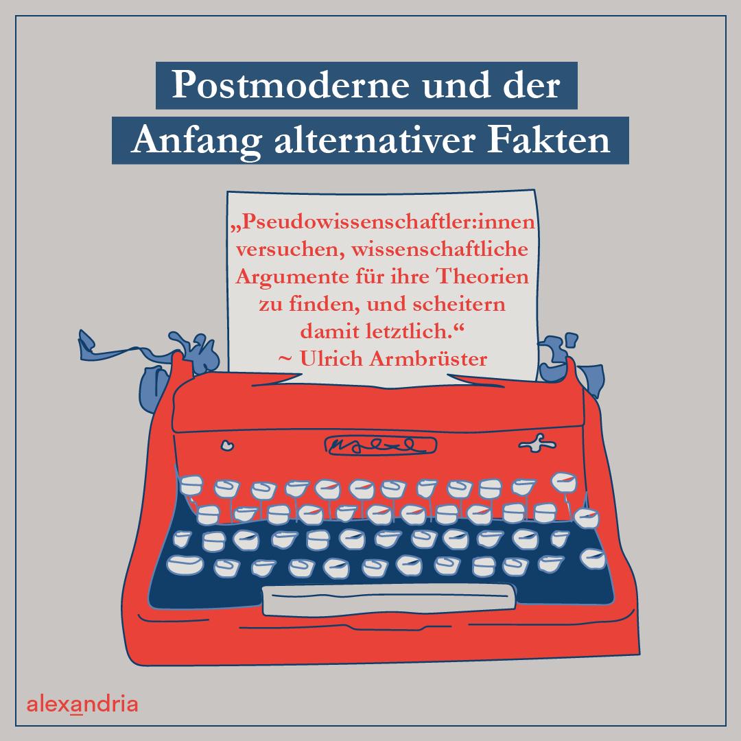 Essay Armbruester Postmoderne Titelbild