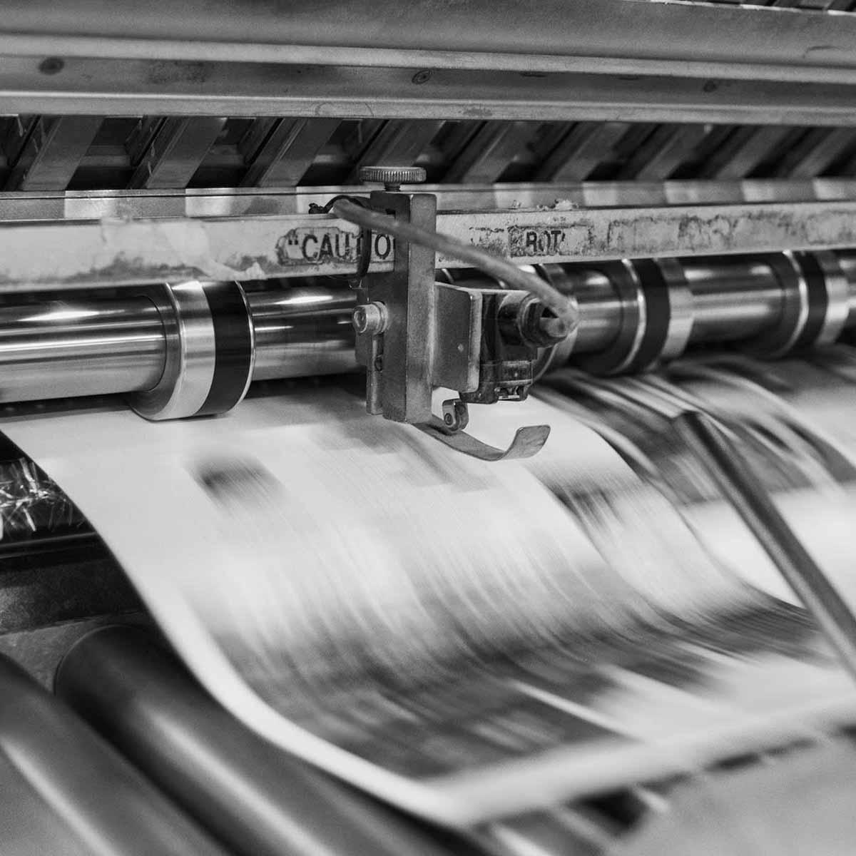 Druckmaschine Magazin